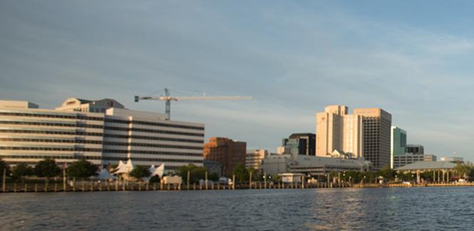 Downtown Norfolk Waterfront