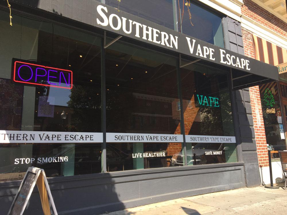 Southern Vape Escape Downtown Roanoke, VA