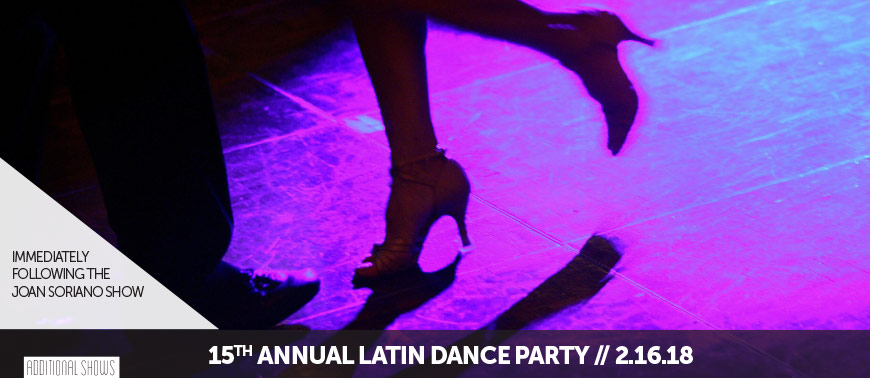15TH ANNUAL LATIN DANCE PARTY
