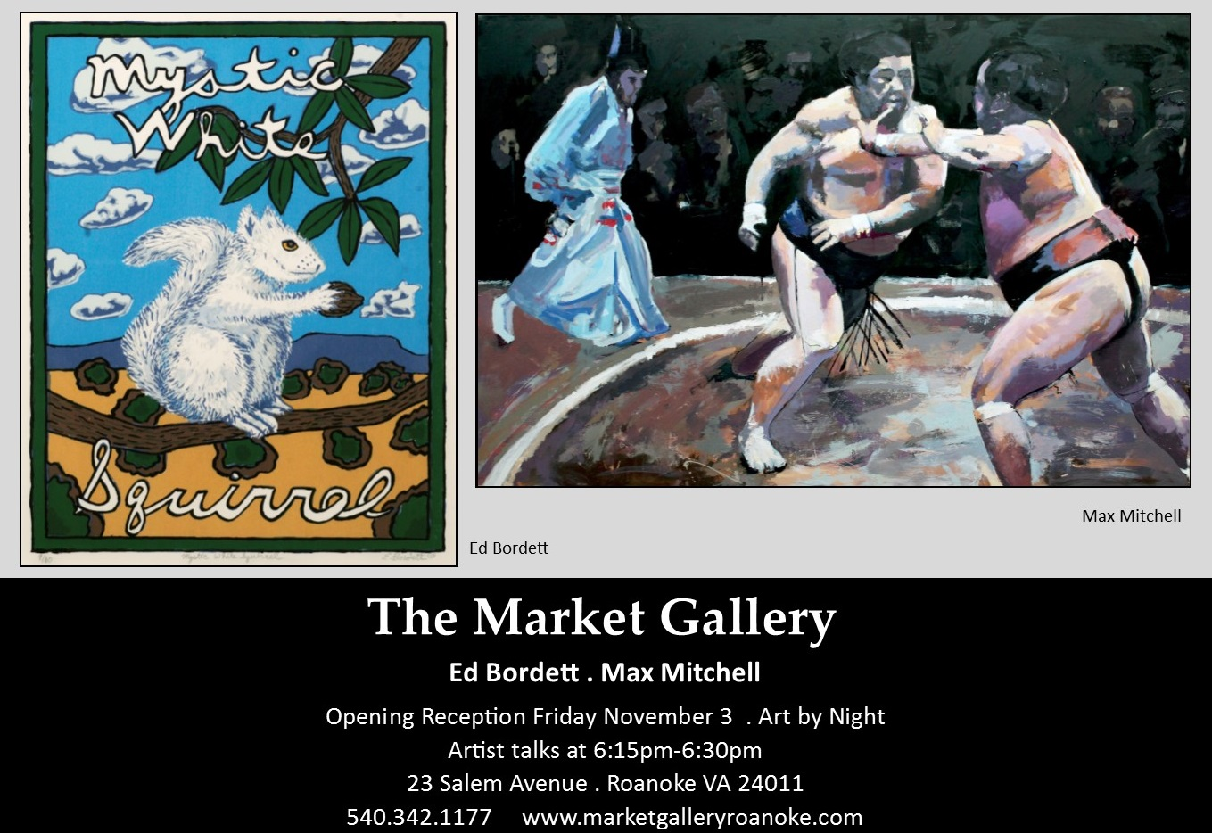 Featured Artists: The Market Gallery, November 2017