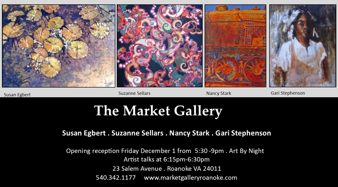 Featured Artists: The Market Gallery, December 2017