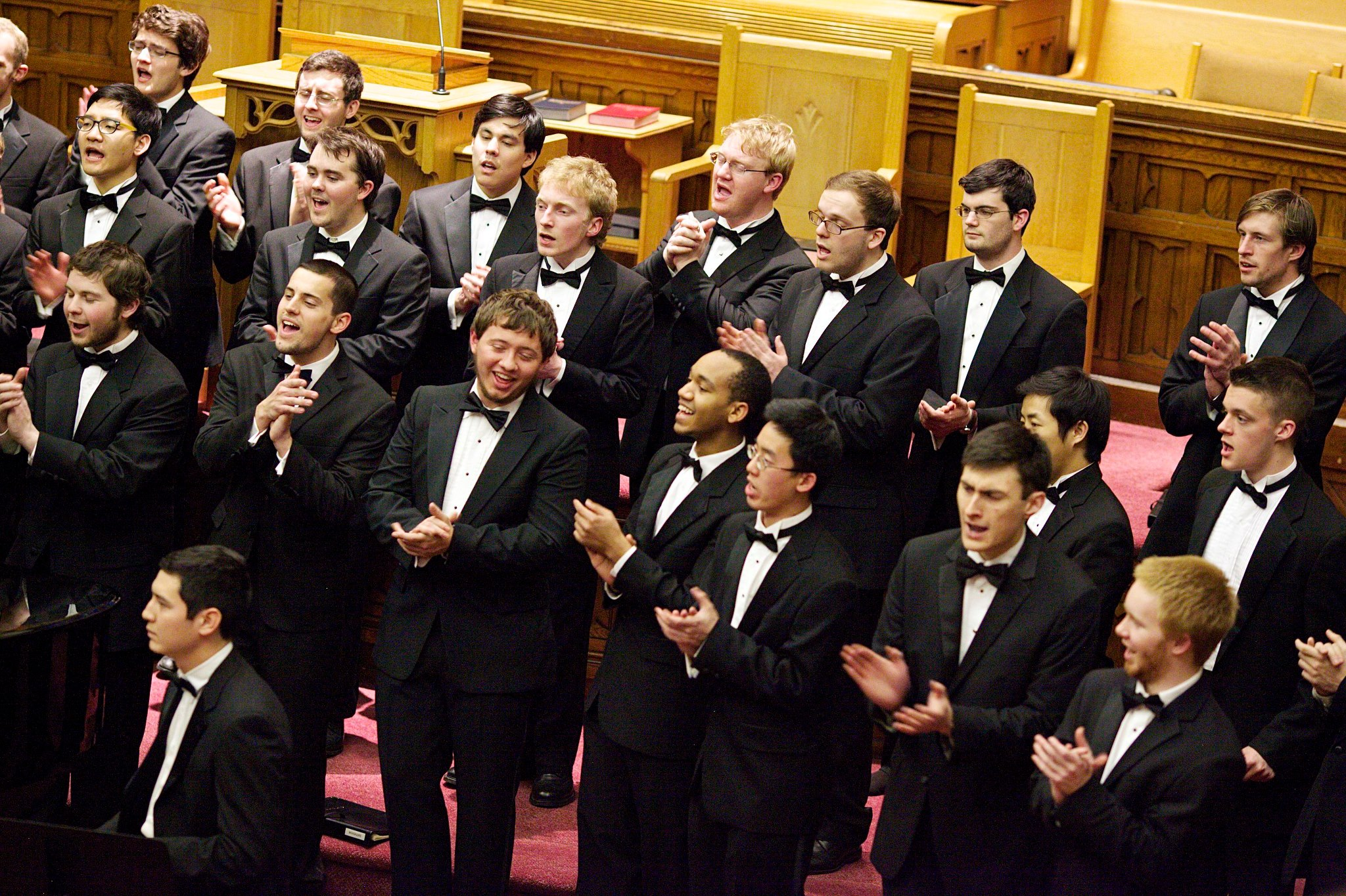 Music on the Corner: The Virginia Glee Club at St. John's
