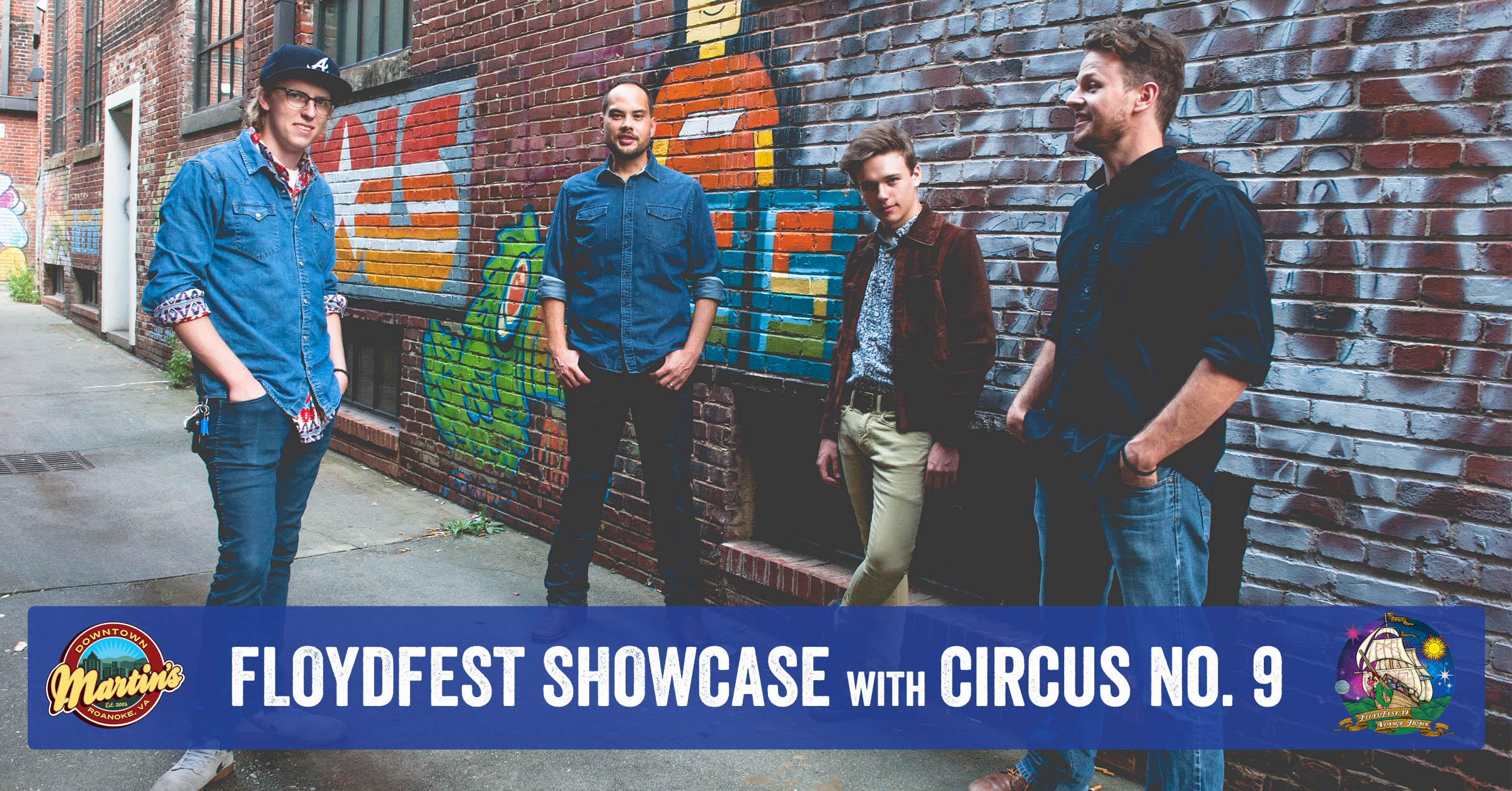 FloydFest Showcase with Circus No. 9 6/13 at 10 p.m. Free Show