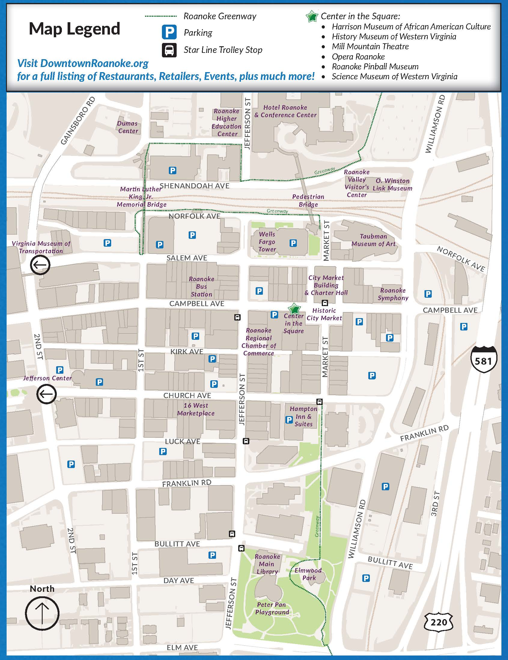 Downtown Map - Seattle map downtown hotels