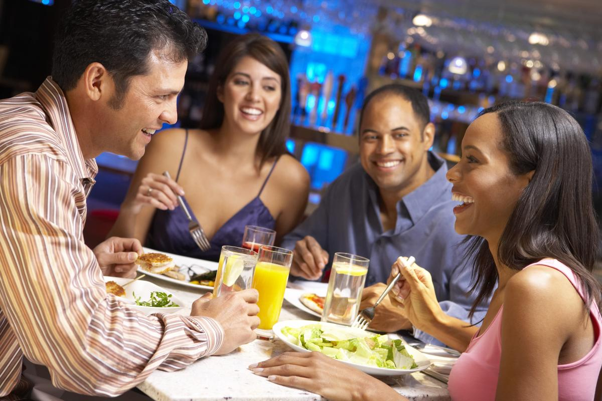 Image result for people at restaurant