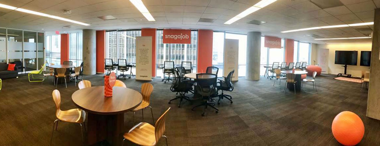 Fast growing snagajob expands in rosslyn rosslyn business improvement district rosslyn va