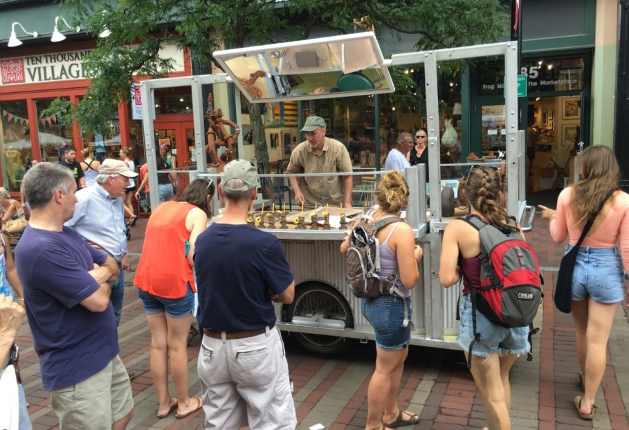 John Brickels Was The Inaugural Artist Demonstrating On August 6th In Front Of Gallery Frog Hollow Has Put Together A Schedule Upcoming S