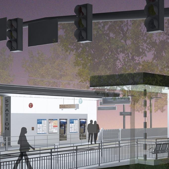East Link Bel-Red/ 130th Station