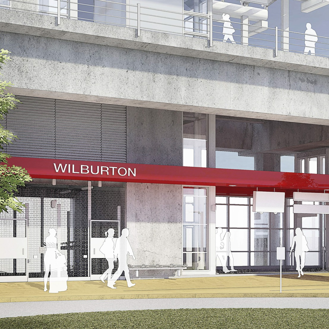 East Link Wilburton Station