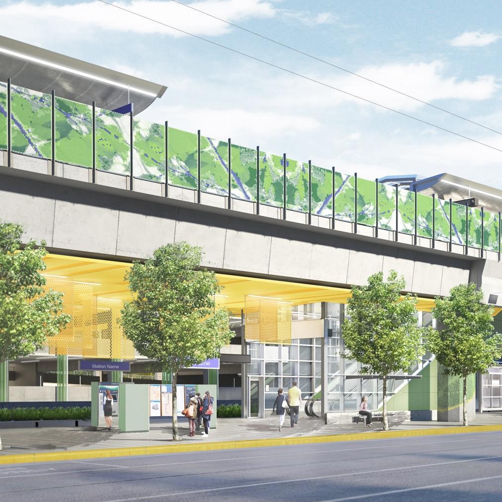 East Link South Bellevue Station