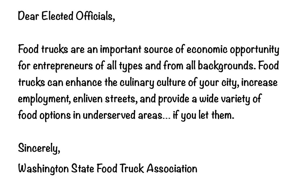 Washington State Food Truck Association